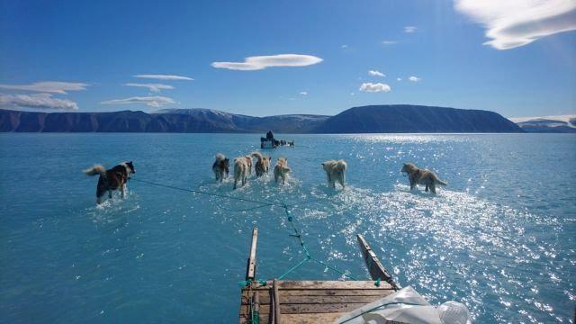 Παγκόσμια ανησυχία: Ο καύσωνας κατευθύνεται στη Γροιλανδία