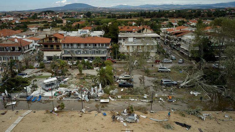 Χαλκιδική Ιούλιος 19′ Πρωτοφανής καταιγίδα