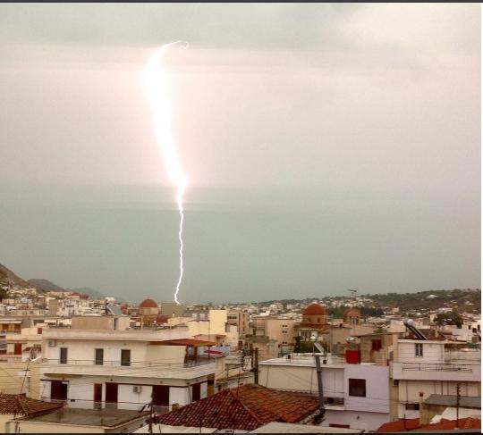 Πρόγνωση καιρού Σαλαμίνας(τοπική)Τετάρτη 13/11/19.Ισχυρές βροχές!