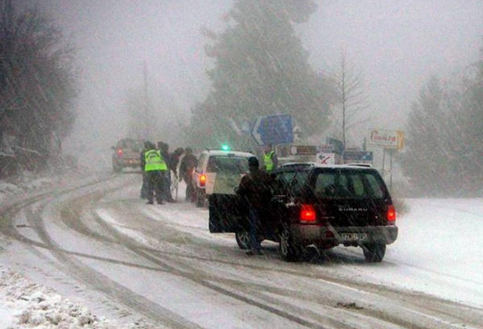 Τα πρώτα χιόνια της σεζόν αύριο Τετάρτη 4/12/19 στην χώρα μας. Σημαντική πρόσκαιρη επιδείνωση του καιρού.