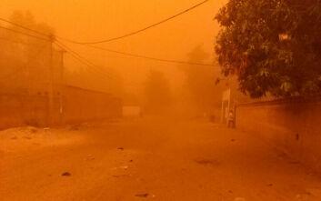 Πέπλο άμμου «κατάπιε» την πρωτεύουσα του Νίγηρα – Εικόνες αποκάλυψης