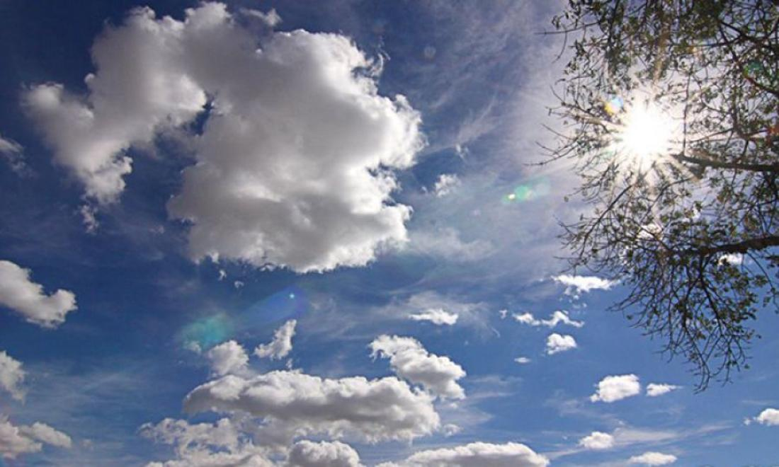 Αίθριος καιρός στο μεγαλύτερο μέρος της χώρας, λίγες τοπικές βροχές στα Βόρεια. Πρόγνωση καιρού Δευτέρα 8/6/20.