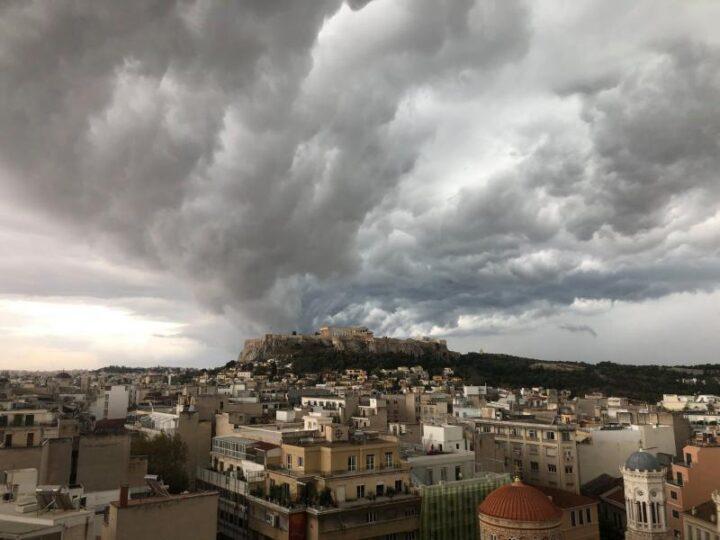 Βροχές και καταιγίδες σε μεγάλο μέρος της χώρας.Πρόγνωση καιρού Τρίτη 7/7/20.