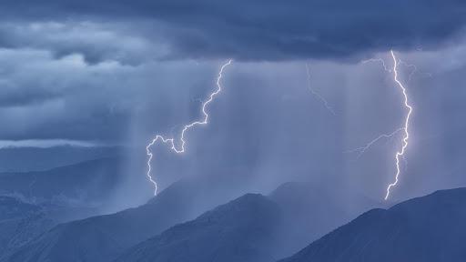 Συνεχίζονται οι βροχές και οι καταιγίδες στα Κεντρικά και Βόρεια.Πρόγνωση καιρού(+χάρτης) Πέμπτη 6/8/20.