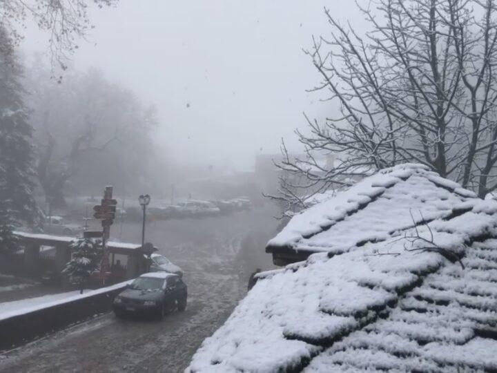 Χιονισμένο Μέτσοβο 28/12/20.