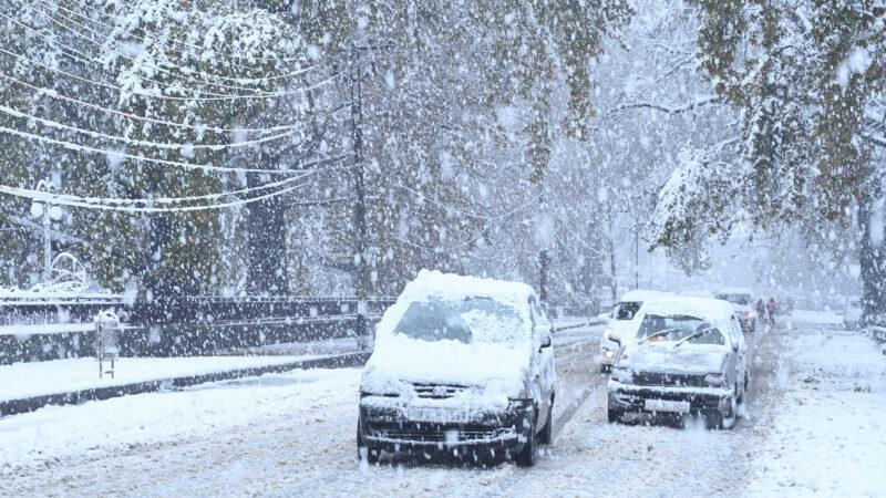 Έναρξη Χιονόπτωσης στην Βόρεια Ελλάδα