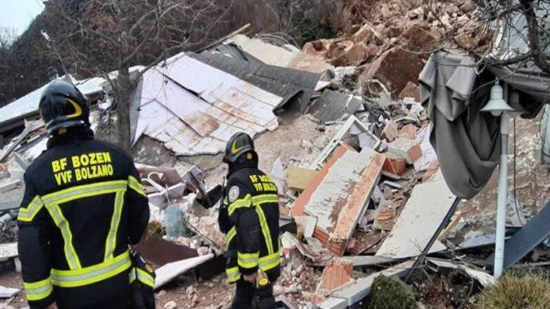 Καταστροφική κατολίσθηση στο Μπολτσάνο της Ιταλίας