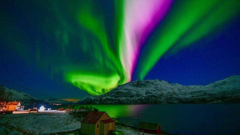 Εντυπωσιακές εικόνες από το Βόρειο Σέλας στο Τρόμσο της Νορβηγίας