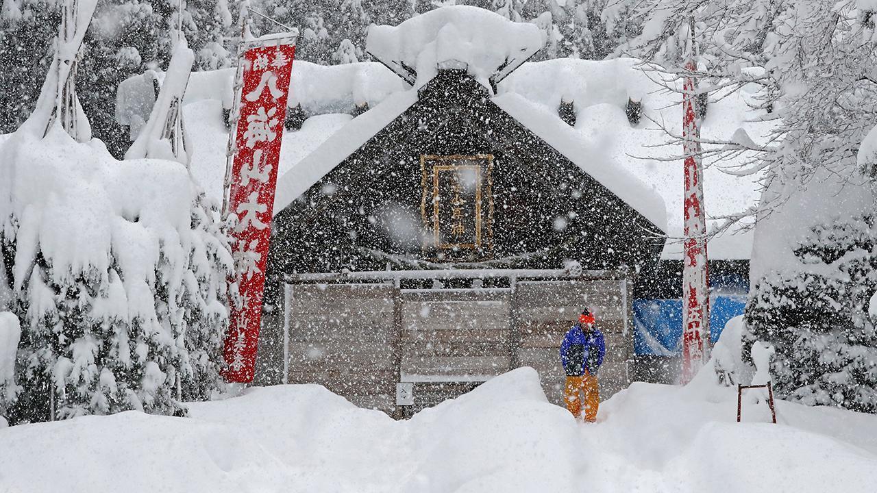 Φονικός Χιονιάς στην Ιαπωνία