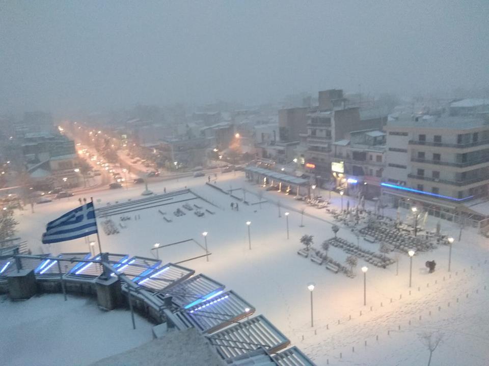 Χιονοπτώσεις σε χαμηλά υψόμετρα. Ιδιαίτερα έντονα τα φαινόμενα την Τετάρτη 27/1/21 σε Θράκη, ανατολικό Αιγαίο.