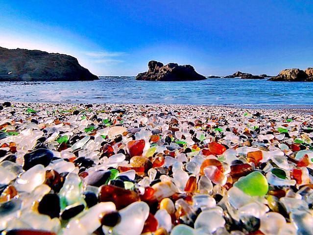 Παραλία Glass Beach Καλιφόρνια