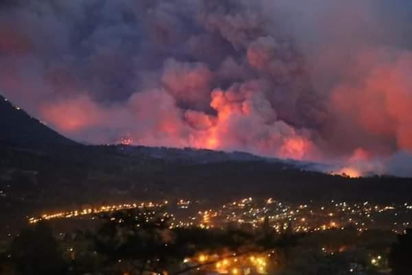 Καταστροφικές πυρκαγιές στην Αργεντινή